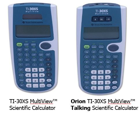 Orion Ti 30xs Multiview Talking Scientific Calculator