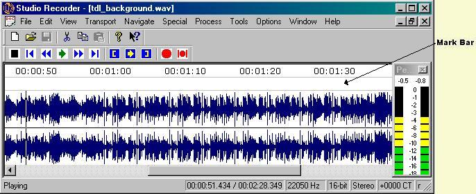 Image of Studio Recorder Wave View with ruler