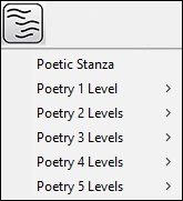 poetry styles menu